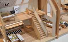 Life in dollhouse | tamido | modern dollhouse | montessori