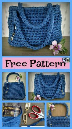 Crochet Island Breeze Bag – Free Pattern #freepattern #freecrochetpatter#bag