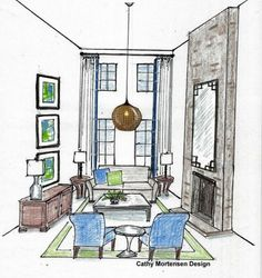 8 ways to decorate tall rooms http://www.homegoods.com/blog/2013/04/23/8-ways-to-decorate-tall-rooms/