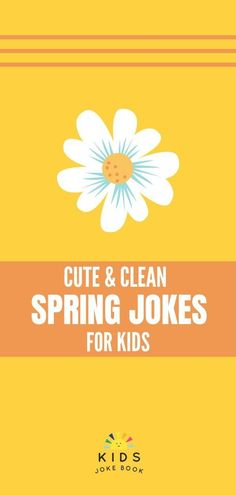 Clean and funny Spring jokes for kids will bring out the humor in your whole family! Have fun laughing together with your children! Use these for joke of the day or lunchbox note for your kids. PIN this pin to save them all! Funny Jokes For Kids, Good Jokes, You Funny, Funny Humor, Spring Jokes, Jokes And Riddles, Clean Jokes, Joke Of The Day, Spring Cleaning