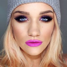"""Pink lips that will not soon be forgotten: La Femme Lip Stain in """"Pastel Fuchsia"""" ($9.50), available at crcmakeup.com"""