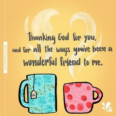 thank you for being a blessing may god always bless you