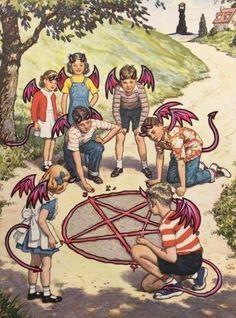 Bizarre Art, Creepy Art, Arte Horror, Horror Art, Arte Alien, Satanic Art, Retro Illustration, Vintage Horror, Wow Art