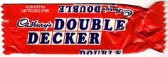 Cadbury's Double Decker 1986 by 205gti306gti, via Flickr Double Decker Chocolate Bar, Cadbury World, Retro Packaging, Vintage Sweets, Cadbury Chocolate, Old Toys, Confectionery, Pop Tarts, Childhood Memories