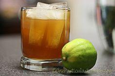 Key lime amaretto drink