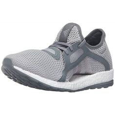 adidas Performance Women's Pureboost X Running Shoe, Vista Grey S15/Metallic Silver/Mid Grey S14, 8.5 M US