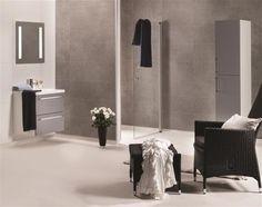 Baderomspanel 4943-M63 Em Grey Concrete Marcato 11x620x2400mm | Byggematerialer, gulv, maling, oppbevaring m.m. | Maxbo.no