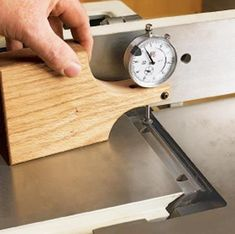 Jointer setup jig DIY #woodworkingtools