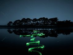 These amazing light trail photographs are by London based Photographer Joel James Devlin. You can see more of Joel James Devlin's incredible work on his website. [via Colossal] Light Trail Photography, Nature Photography, Exposure Photography, Night Photography, Creative Photography, Landscape Photography, Photography Ideas, National Geographic, Luz Artificial