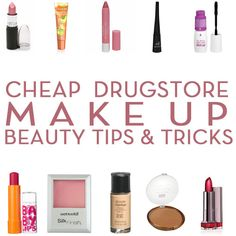 Perfect in my Mind: Cheap Make Up Tips ---- Very thorough review, and was really helpful.