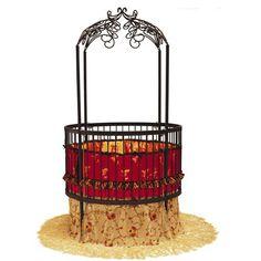 Frette Round Iron Crib