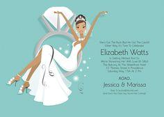 1961 bridal shower invitation illustration inspiration pinterest filmwisefo