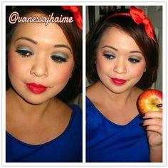 Halloween makeup ideas: Snow White