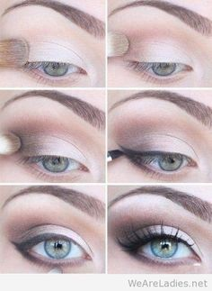Makeup for blonde girls