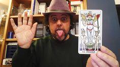 Francesco Le Mat interpreta il Diavolo dei Tarocchi