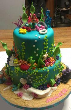 Childrens Birthday Cakes: Disney Princess Ariel