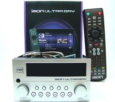 SOUNDGRAPH iMON UltraBay IR Receiver pad Remote control LCD display HTPC -Silver