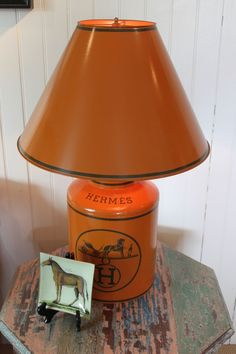 Hermes lamp from Napa Valley Vintage Home, St. Helena