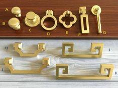Drawer Knobs Cabinet Knobs Drawer Pulls Dresser by LynnsHardware Dresser Knobs And Pulls, Brass Drawer Pulls, Knobs And Handles, Cabinet Handles, Pull Handles, Cabinet Hardware, Door Knobs, Furniture Handles, Furniture Hardware