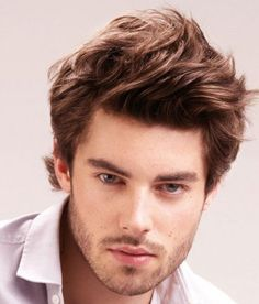 men hairstyles with big forehead 11
