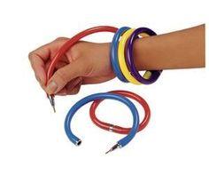 Remember bracelet pens?