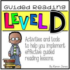 This Guided Reading: LEVEL D unit is full of student activities and teacher materials that you can use to support your students in their journey to reading. Use these materials to plan and implement effective guided reading lessons that target their exact needs.