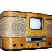 1938 GE Tabletop Television