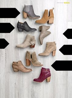 Ankle Booties - Favo