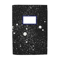 Galaxy notebook 100 recycled paper by oelwein on Etsy, Journal Diary, Journal Notebook, Galaxy Notebook, Office Stationery, Letter Set, Bookbinding, Print Design, Graphic Design, Recycling