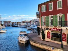 Colorful Canals of Port Grimaud, France