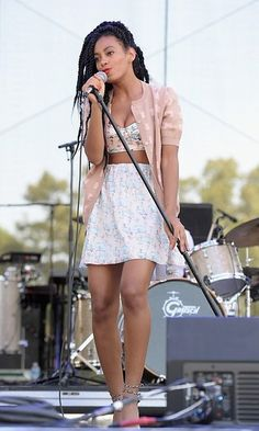 Solange Knowles. Love her style