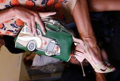 Prada's 1950's car-print collection