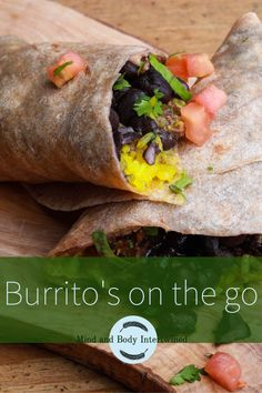 Looking for a healthy lunch recipe for on the go? Try this healthy burrito dish and never look for another lunch again! #burrito #burritorecipe #healthyrecipe #recipe #lunch #lunchrecipe
