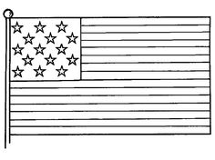 American Flag Picture For Independence Day Coloring Pages - Download & Print Online Coloring Pages for Free | Color Nimbus