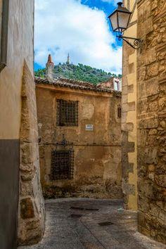 Por la calle del Sr Obispo  Cuenca  Spain