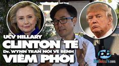 Bà Hillary té ngã nói về bệnh viêm phổi và sức khỏe các ƯCV Tổng thống Mỹ