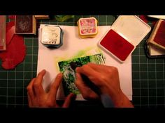 Stampscapes 101: Video 26A.  Green Flash.  Part 1 of 2.