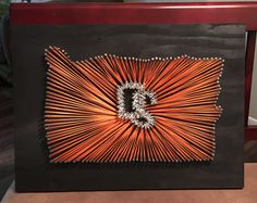 OSU String art