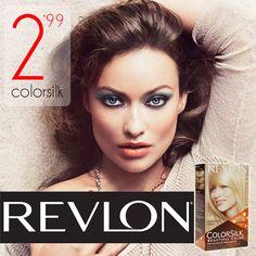 Revlon saca al mercado un nuevo tinte s/amoniaco para un tono natural y exuberante. Brinda color y brillo de alta definición y larga duración. Cobertura 100%. Pero lo mejor es su precio¡¡¡ #coaspecobeauty Disponible ya en nuestras tiendas.