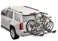 The FourTimer is the ideal bike hitch rack for up to 4 bikes of all shapes and sizes. Hitch Mount Bike Rack, Bike Hitch, Trailer Hitch Installation, Trailer Hitch Accessories, Best Bike Rack, Sport Rack, Car Roof Racks, Archery Equipment