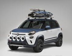Fiat 500L Vans is ready for a road trip!