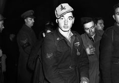 One of the many Italian prisoners of war captured in Libya, who arrived in London on January 2, 1942. This one is still wearing his Africa Corps cap. (AP Photo) #World War II: The North African Campaign - In Focus - The Atlantic