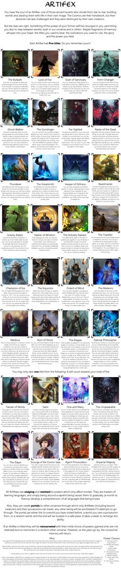 Post with 182 votes and 9696 views. Tagged with magic, cyoa, powers, choose your own adventure, titles; Shared by Artifex CYOA Writing Help, Writing Tips, Writing Prompts, Writing Characters, Fantasy Characters, Story Inspiration, Writing Inspiration, Story Ideas, Create Your Own Adventure