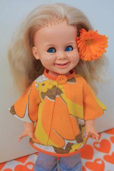 AvMeg: Min kjære Tjorven dukke. Princess Peach, Disney Princess, Beautiful Dolls, Childhood Memories, Flower Power, Mario, Disney Characters, Fictional Characters, Nostalgia
