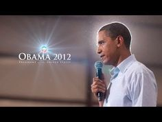 Barack Obama was re-elected in 2012. The news was full of politics in 2012 because of the election coverage. Obama was pretty much talked all year long. This is an ad for his campaign that I supported.