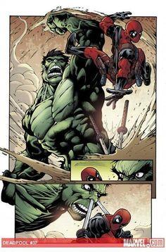 Deadpool / Hulk