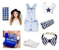 blue baby by tianna12 on Polyvore featuring polyvore, fashion, style, New Look, Converse, Brooks Brothers, Wet Seal and MICHAEL Michael Kors
