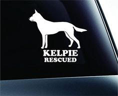 Australian Kelpie Rescued Dog Symbol Decal Funny Car Truck Sticker Window (White) ExpressDecor http://www.amazon.com/dp/B00S6YJSSC/ref=cm_sw_r_pi_dp_zMyTub0P0GVPM