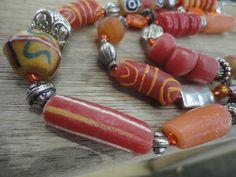 No words today: Beads! - Pas de mot aujourd'hui : Des perles !   Ghana : Entre Busua Inn et Ezile Bay Village