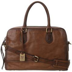 $648.00 Frye Jamie Work (Taupe Tumbled Full Grain) Satchel Handbags
